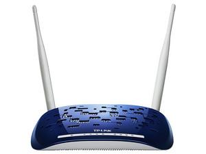 Ruteador Inalámbrico ADSL2+N TP-LINK TD-W8960N de Alta Potencia hasta 300 Mbps.