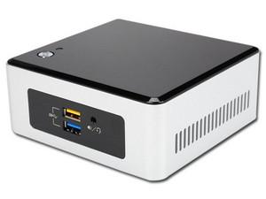 "Mini Computadora Intel NUC Kit NUC5i5RYH, Procesador Intel Core i5 5250U (hasta 2.7 GHz), Soporta hasta 8 GB SO-DIMM DDR3L, Soporta D.D. de 2.5\"" (7mm) SATA 3.0 Red 802.11ac/b/g/n, Bluetooth 4.0, S.O. compatible Windows 10 (No Incluido)"