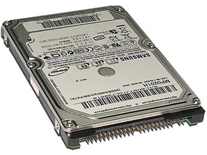 Disco Duro Samsung de 20GB, 5400RPM/8M/PATA, para Laptop