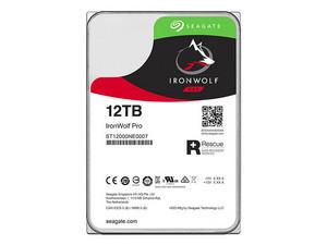 Disco Duro Seagate IronWolf Pro de 12 TB, Caché 64 MB, SATA III (6.0 Gb/s).