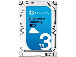 Disco Duro Seagate Exos de 3TB, 7200 RPM, Caché 128MB, SATA III (6 Gb/s).