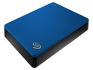 Disco Duro Portátil Seagate Backup Plus de 4TB, USB 3.0. Color Azul.