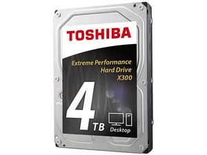 Disco Duro Toshiba x300 de 4TB, 7200 RPM, Caché 128MB, SATA III (6 Gb/s).
