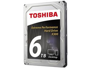 Disco Duro Toshiba x300 de 6TB, 7200 RPM, Caché 128MB, SATA III (6 Gb/s).