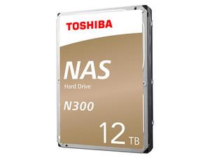 Disco Duro Toshiba N300 de 12TB, 7200 RPM, Caché 256MB, SATA III (6 Gb/s) compatible con NAS.