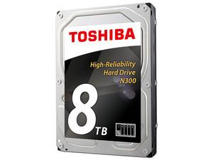 Disco Duro Toshiba N300 de 8TB, 7200 RPM, Caché 128MB, SATA III (6 Gb/s) compatible con NAS.