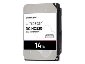 "Disco Duro Western Digital Ultra Star DC HC530, 3.5\"", 14TB, 512MB caché, 7200 RPM, SATA III (6 Gb/s)."