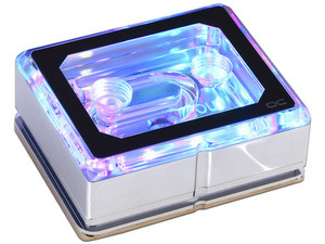 Sistema de enfriamiento líquido Alphacool Eisblock XPX Aurora PRO, soporta Socket Intel 2066/3647, AMD TR4.