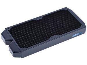 Radiador Alphacool NexXxoS ST30 para 2 ventiladores, 240mm. Color Negro.