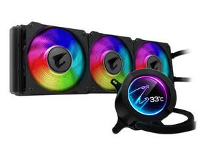 Sistema de Enfriamiento Líquido Gigabyte Aorus Liquid Cooler 360, para socket AMD sTRX4, TR4, AM4 e Intel 2066, 2011-3, 1366, 115x.