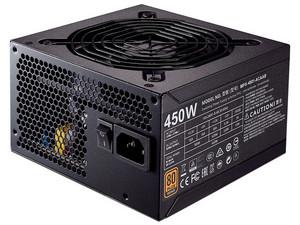 Fuente de Poder Cooler Master MMWE BRONZE de 450W, ATX, 80 Plus Bronze Certified.