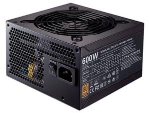 Fuente de Poder Cooler Master MWE de 600W, ATX, 80 PLUS Bronze.