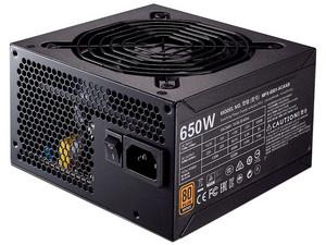 Fuente de Poder Cooler Master MWE Bronze 650 de 650W, ATX, 80 Plus Bronze.