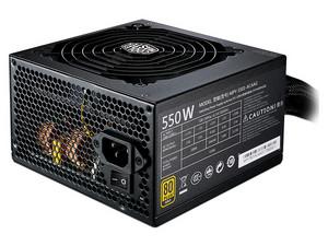 Fuente de Poder Cooler Master MWE GOLD 550 de 550W, ATX, 80 Plus GOLD.