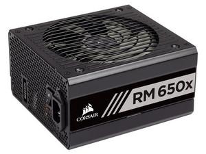 Fuente de Poder Corsair RM650X CP-9020178-NA de 650W, ATX, 80 PLUS Gold.