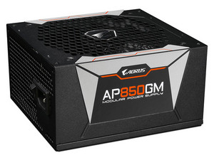Fuente de Poder Modular Gigabyte AORUS GP-AP850GM de 850W, ATX, 80 Plus Gold.