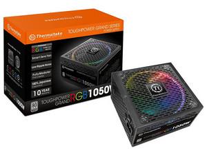 Fuente de Poder Thermaltake Grand RGB de 1050W, ATX, 80 Plus Platinum.
