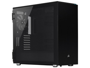 Gabinete Corsair Carbide Series 678C, ATX (sin fuente de poder). Color Negro.