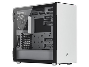 Gabinete Corsair Carbide 678C, E-ATX (Sin Fuente de Poder). Color Blanco.
