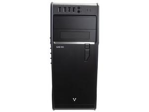 Gabinete Vorago GAB-100, ATX con fuente de poder de 450W. Color Negro.