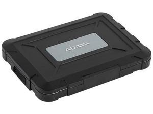 """Gabinete ADATA ED600 para SSD ó HDD de 7mm y 9.5mm, 2.5\"""", Convierte tu SSD (SATA) en un Disco Externo USB 3.0. Color Negro"""