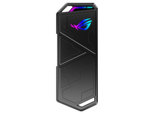 Gabinete para SSD ASUS Formato M.2 PCIe, USB tipo C. Color Negro.