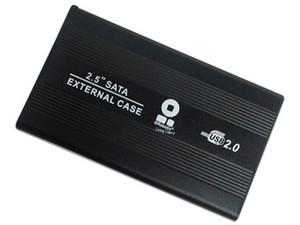 """Gabinete Brobotix 001642 para Disco Duro de 2.5\"""". Color Negro."""
