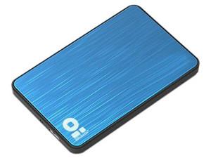 """Gabinete para Disco Duro Brobotix 170602-2 de 2.5\"""", Convierte tu Disco Duro Interno (SATA) en un Disco Externo USB 2.0. Color Azul."""