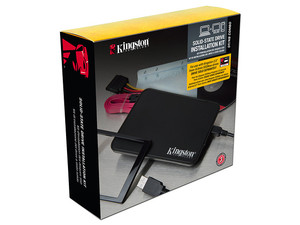 "Kit de instalación Kingston para Disco Duro SSD de 2.5""."