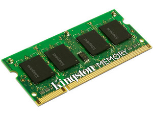 Memoria Kingston SODIMM DDR2 PC2-5300 (667 MHz) 1 GB.