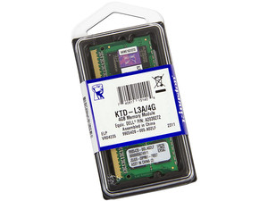 Memoria Kingston de 4GB, Modelo: KTD-L3A/4G