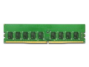 Memoria Synology SODIMM DDR4 PC4-19200 (2400MHz) 16GB, ECC, para servidores.