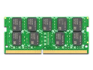 Memoria Synology SODIMM DDR4 PC4-21300 (2400MHz) 16GB, ECC, para servidores.