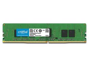 Memoria Crucial para Servidor PC4-21300 (2666MHz), 4GB, CL19, ECC.