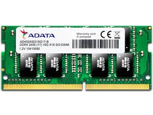 Memoria ADATA SODIMM DDR4, PC4-19200 (2400Mhz), 16 GB.