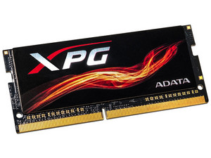 Memoria ADATA SODIMM XPG Flame DDR4 (2400MHz), CL15, 8 GB. Color Negro.