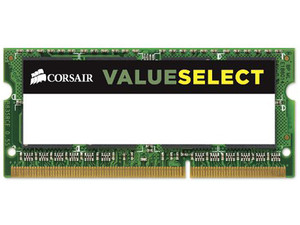 Memoria Corsair SODIMM DDR3L PC3-12800 (1600 MHz), 8 GB.