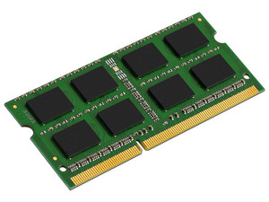 Memoria Kingston SODIMM DDR3 PC3-10600 (1333 MHz) CL9, 8 GB.