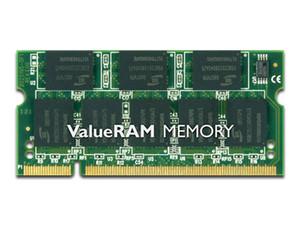 Memoria SODIMM Kingston DDR PC-2700 (333 MHz), CL2.5, 256MB.
