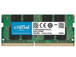 Memoria Crucial CT8G4SFRA266, SODIMM DDR4, PC4-21300(2666MHz), CL19, 8GB.
