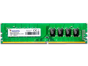 Memoria ADATA DDR4, PC4-17000 (2133 MHz), CL15, 8 GB.