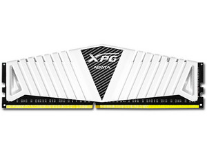 Memoria ADATA XPG Z1 DDR4, PC4-19200 (2400MHz), CL16, 8 GB. Color Blanco