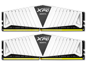 Memoria ADATA XPG Z1 DDR4 PC4-19200 (2400MHz), 16 GB Kit con 2 piezas de 8 GB. Color Blanco.