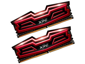 Memoria ADATA XPG Dazzle DDR4 PC4-24000 (3000MHz), 16 GB Kit con 2 piezas de 8 GB. Color Rojo.
