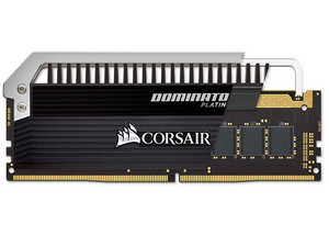 Memoria Corsair Dominator platinum DDR4 PC4-24000(3000MHz), CL15, 16 GB, Kit con dos piezas de 8 GB.