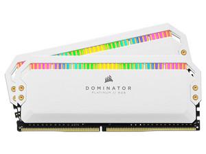 Memoria Corsair Dominator Platinum RGB DDR4, PC4-25600(3200MHz), CL16, 16GB (2 x 8GB)