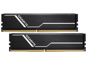 Memoria Gigabyte DDR4, PC4-21300 (2666 MHz), CL16, 16GB (2 x 8GB), Kit con dos piezas de 8GB.