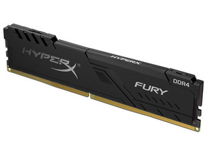 Memoria DIMM Kingston HyperX Fury DDR4, PC4-25600 (3200MHz), CL16, 8GB.