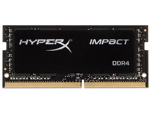 Memoria Kingston HyperX Impact DDR4, PC4-25600 (3200MHz), CL20, 16GB.