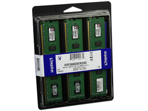 KINGSTON 6GB  PC3 10600 CL9 240 (3PZAS) MODELO KVR133D3N9K36G